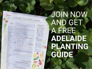 Join now and get a free Adelaide planting guide.