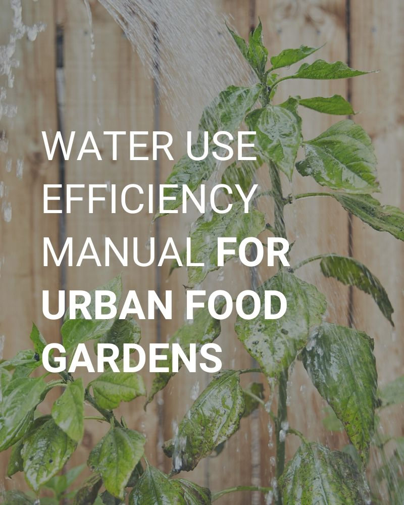 Water Use Efficiency Manual for Urban Food Gardens